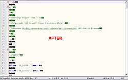 creates double-spaces in a file when I download from server using FlashFXP.-after-jpg