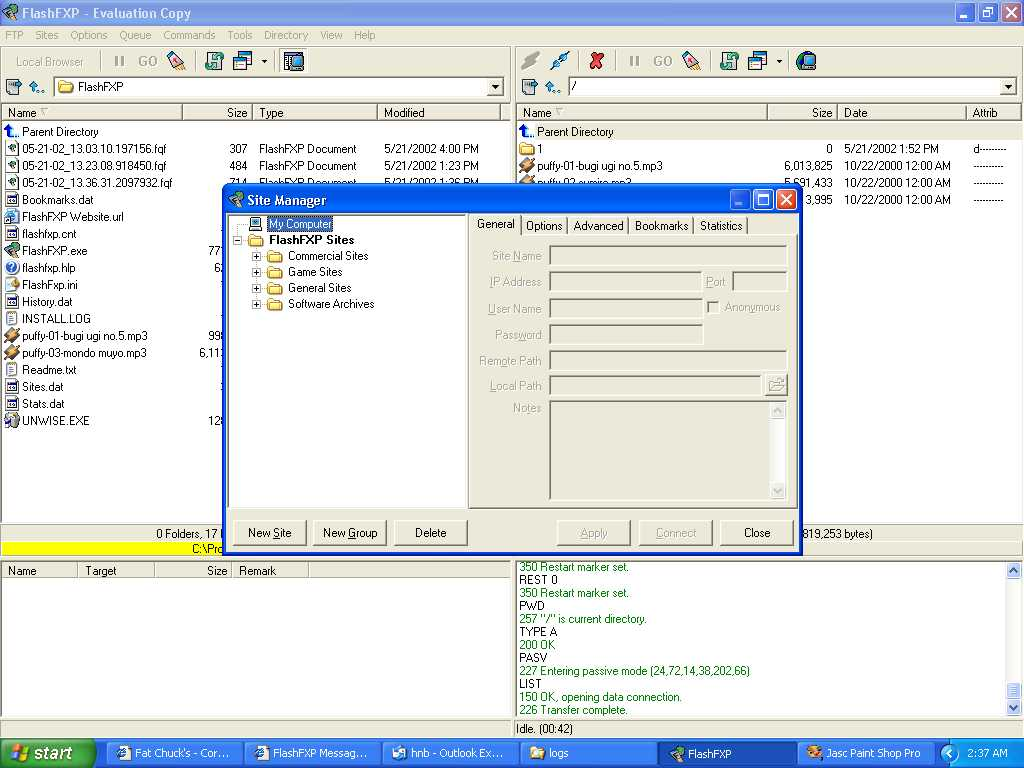 Queue not using current password-screenshot-jpg