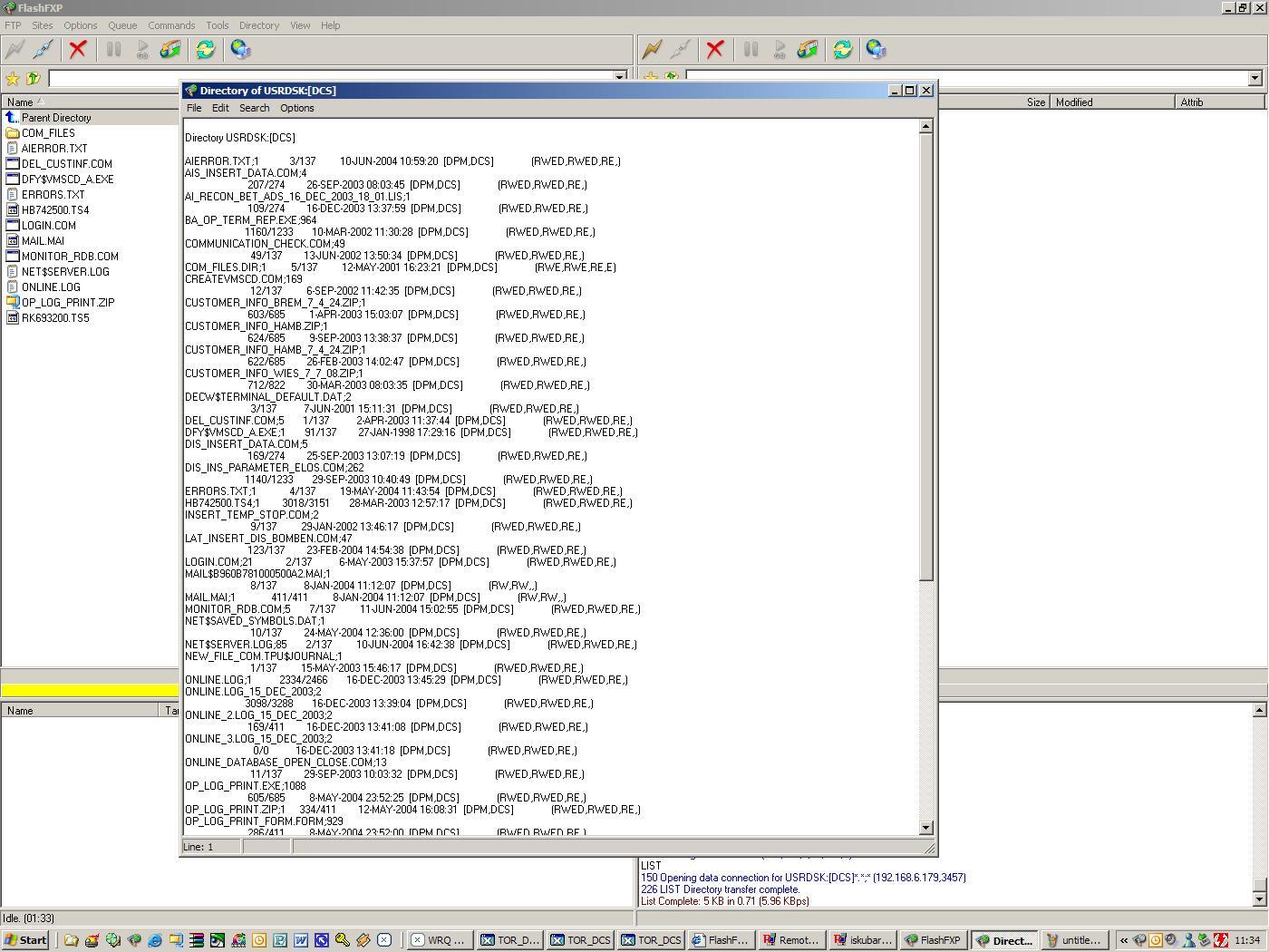 Open VMS list problems-flash_list_prob-jpg