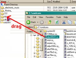 Drag to folder from explorer.exe doesn't work-flashfxp-drag-folder-png