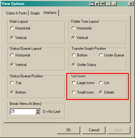 """No """"List Icons"""" option on right-click in 'FTP browser' and 'Local browser'-flashfxp-list-icons-png"""